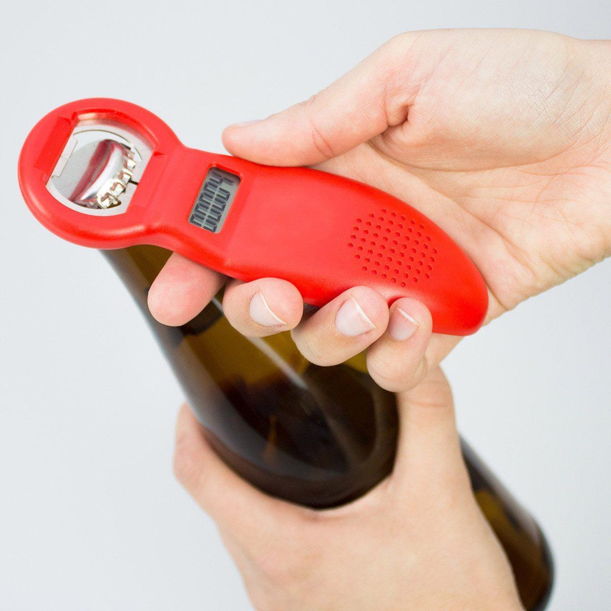 Abrebotellas con contador de cervezas