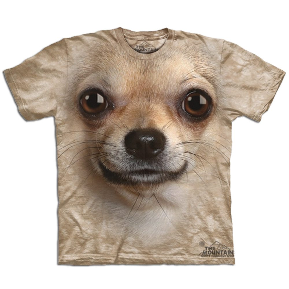 Camiseta Big Face - Chihuahua