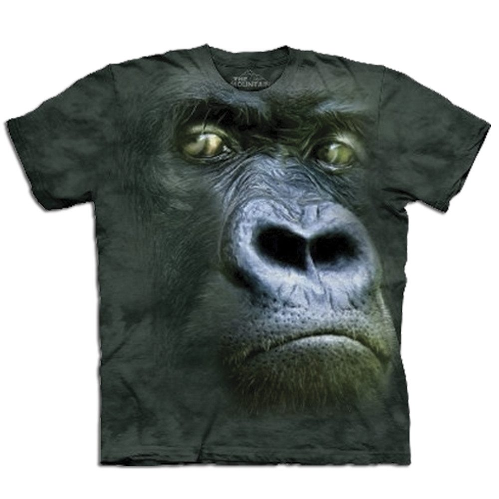 Big Face - Tier T-Shirts - Gorilla