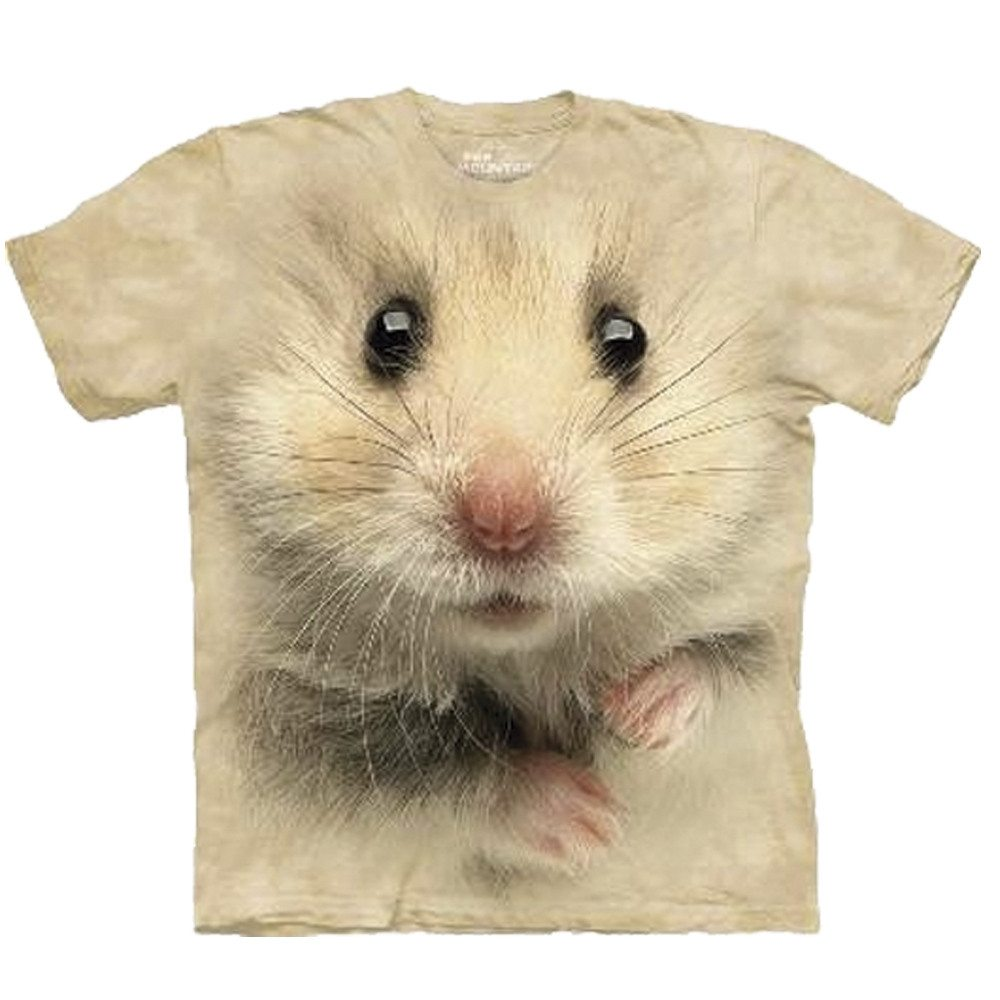 Big Face - Tier T-Shirts - Hamster
