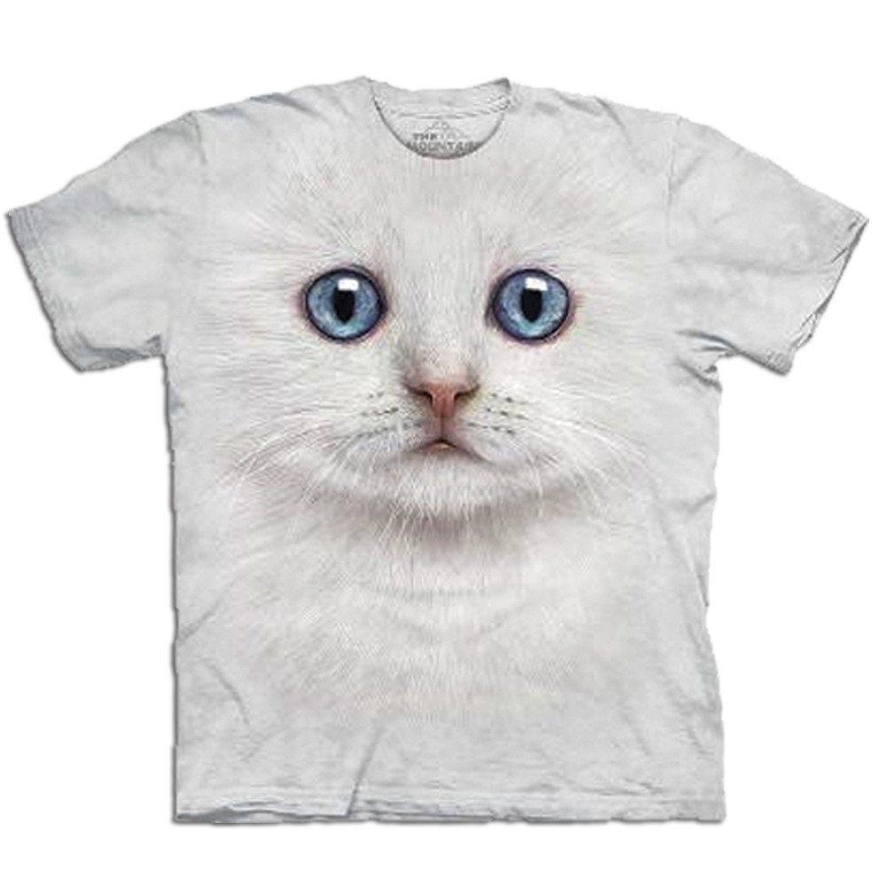 Camiseta Big Face 3D – Gato
