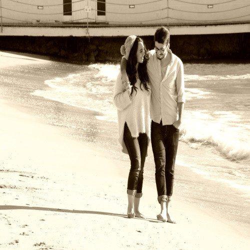 Book de Fotos Enamorados - Sitges