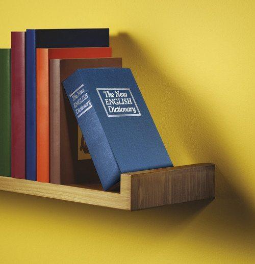 Hucha libro camuflada - Tus tesoros ocultos