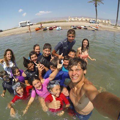 Campamento acuático para niños - Almería