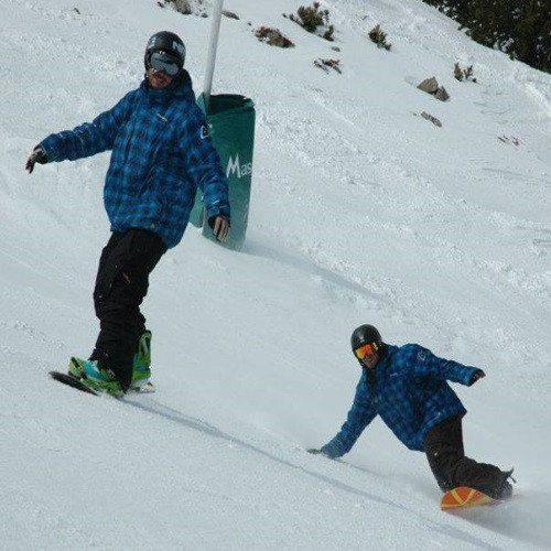 Clase de Snow en pareja - Gerona