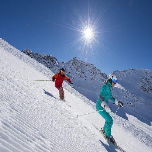 Clase privada de Esquí  en pareja - Granada