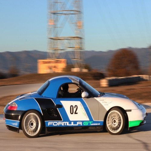 Conducción Drift con Porsche Boxster Cup - Madrid
