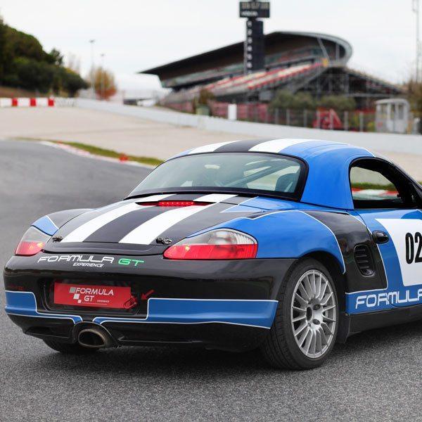 Conduce un Porsche Boxster en Can Padró - Barcelona