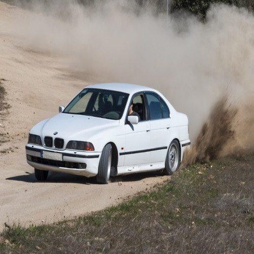 Curso de Rally con BMW 540 - Segovia