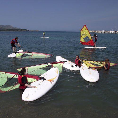 Curso iniciación al Windsurf - Girona