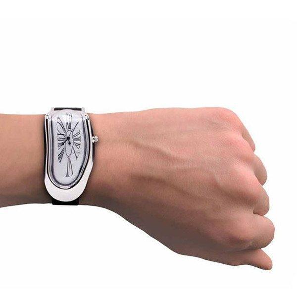 Dalís schmelzende Armbanduhr