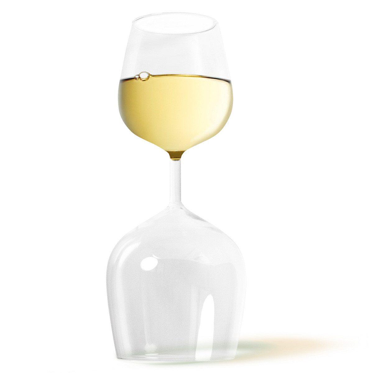 """La práctica copa de vino """"tinto y blanco"""""""