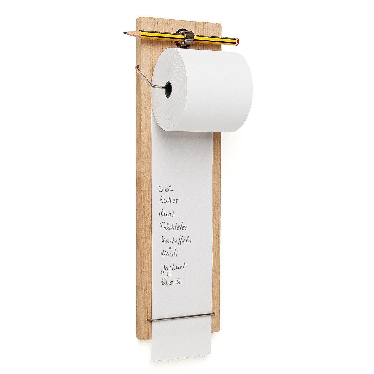 Denkzettel – Einkaufshelfer aus Holz