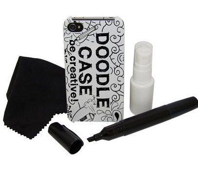 Doodle Case - La Carcasa de iPhone para creativos iPhone 4/ 4S