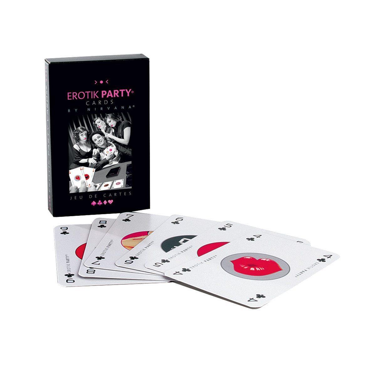 Set de Cartas eróticas Nirvana – el juego más sexy