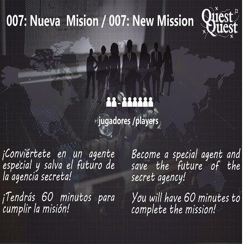 Escape Room Espía 007 - Mallorca