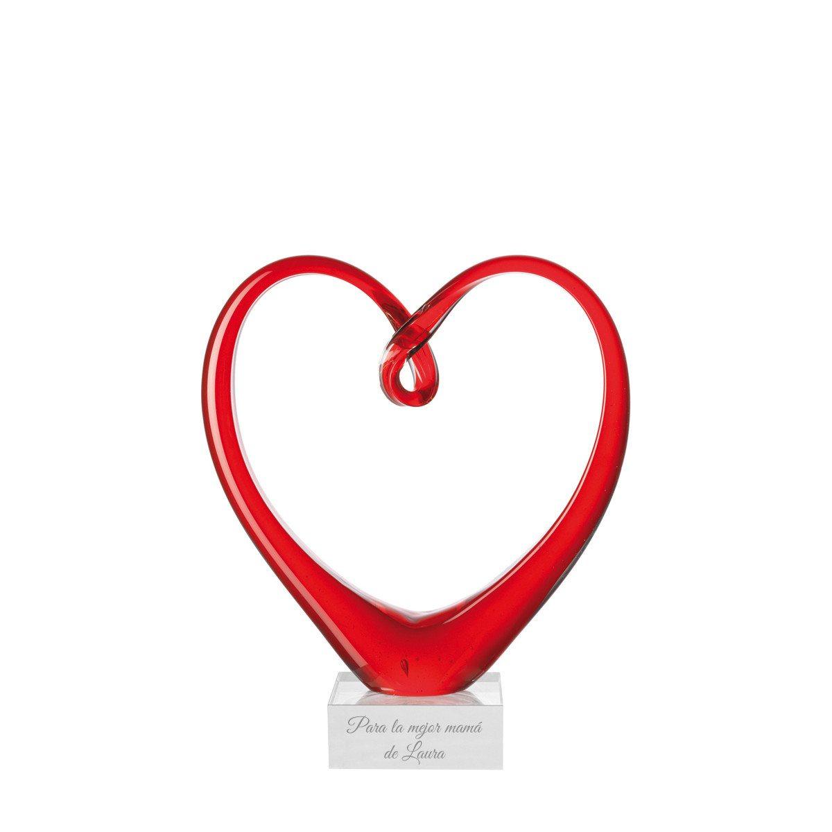 Escultura Corazón con grabado para los más especiales