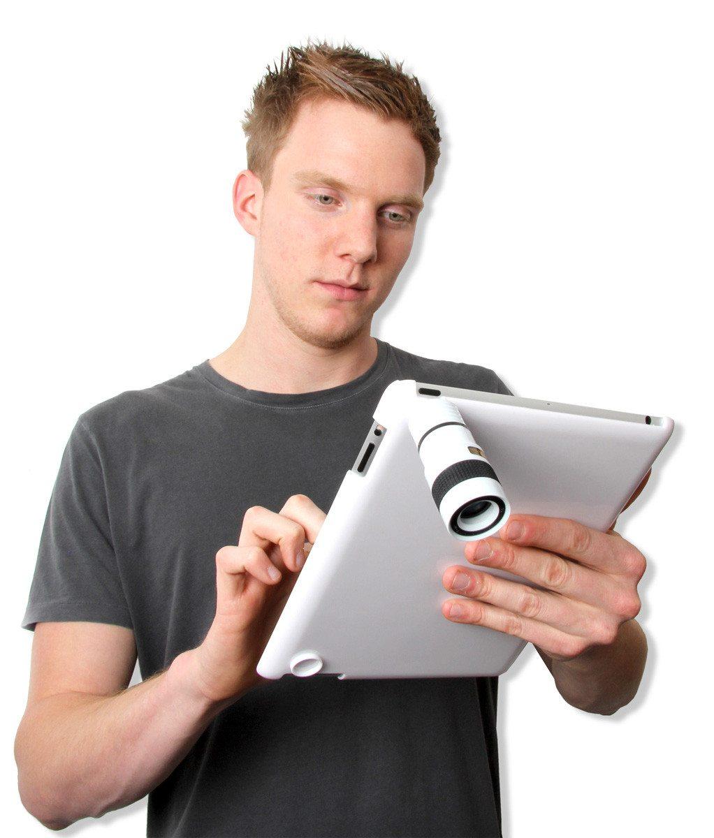 Lente telescópico para Ipad2 para fotógrafos y paparazis