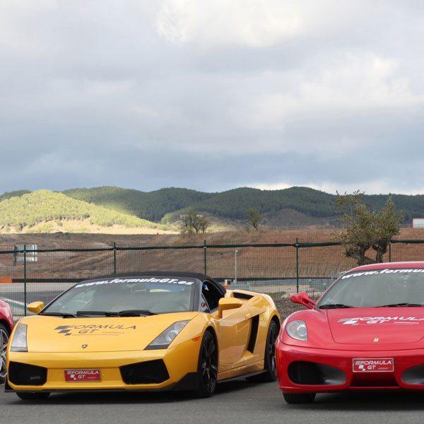 Ferrari F430 F1 y un Lamborghini Gallardo - Montmeló - Barcelona