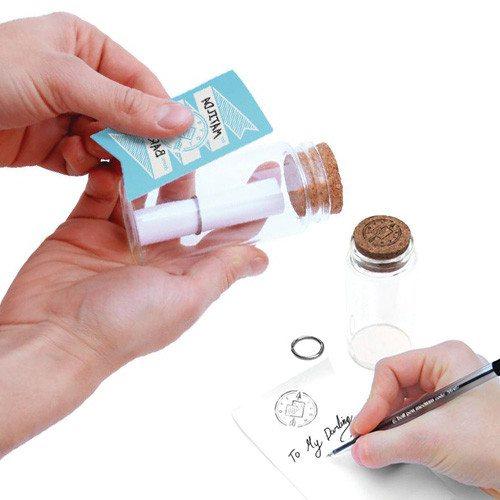 Mensaje en una botella - Envía tus notas más románticas