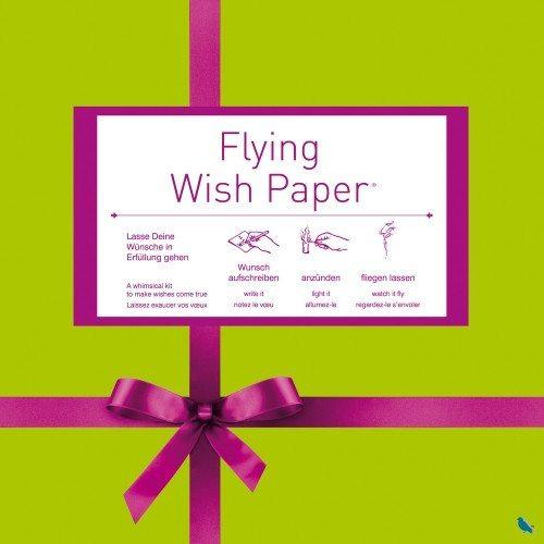 Set de 50 papeles voladores para deseos - Flying Wish Paper