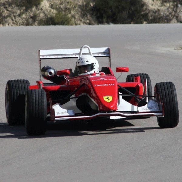Fórmula 3 réplica Ferrari Can Padró - Barcelona