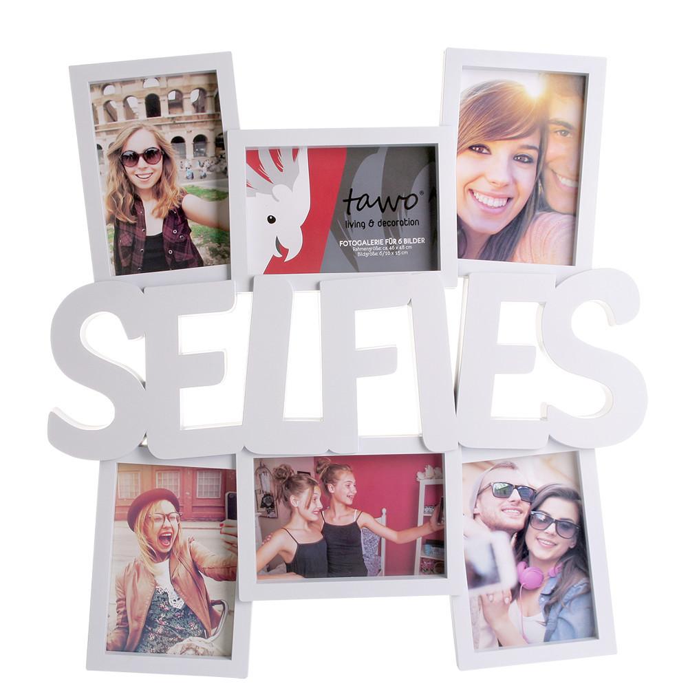Marco de fotos para 6 selfies
