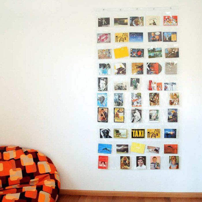 Foto-cortina - 50  Bolsillos para decorar con fotos