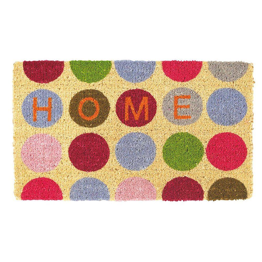 """Alfombra """"Home"""" – con círculos de colores"""