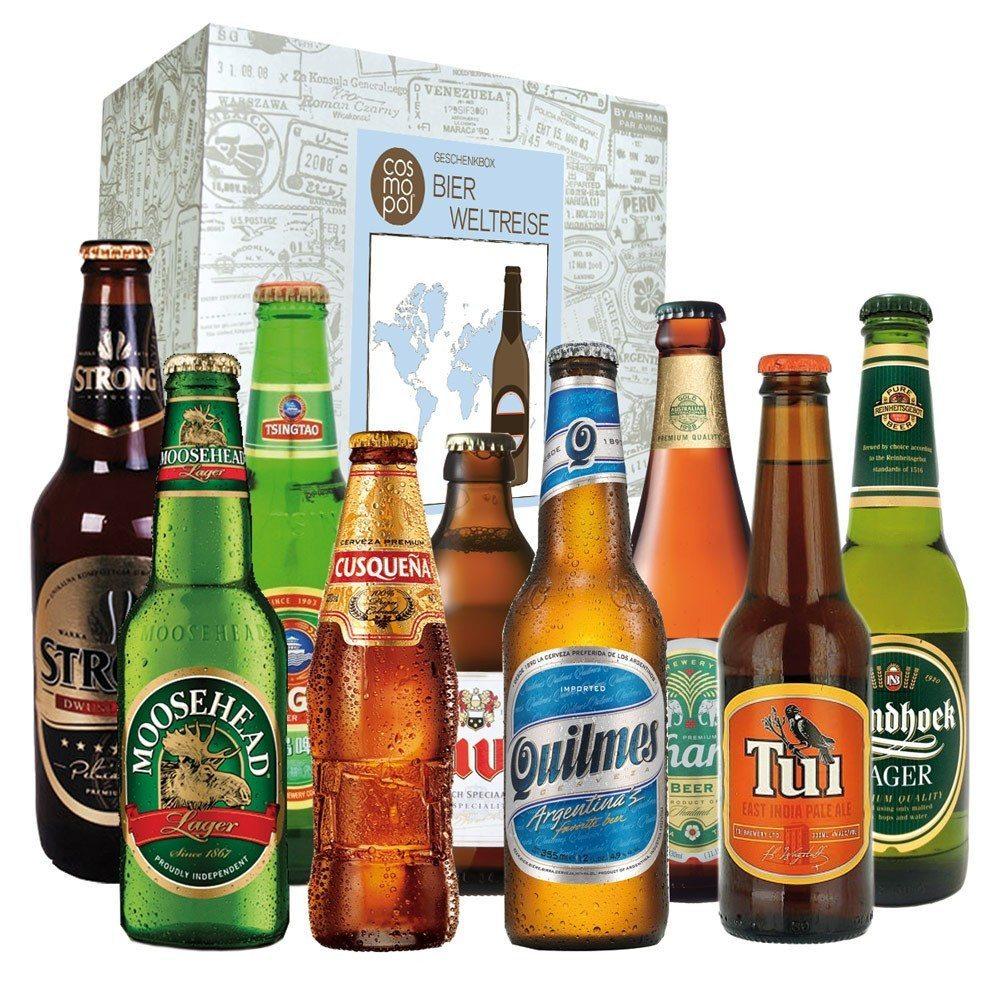"""Set de regalo """"Cervezas del mundo"""" - Para los más gourmet"""