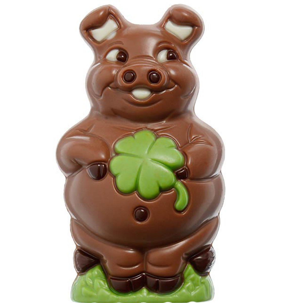 Glücksschwein aus Schokolade von Hussel