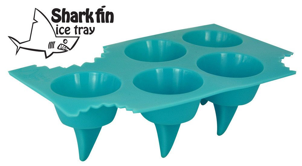 Haifischflossenform für Eiswürfel