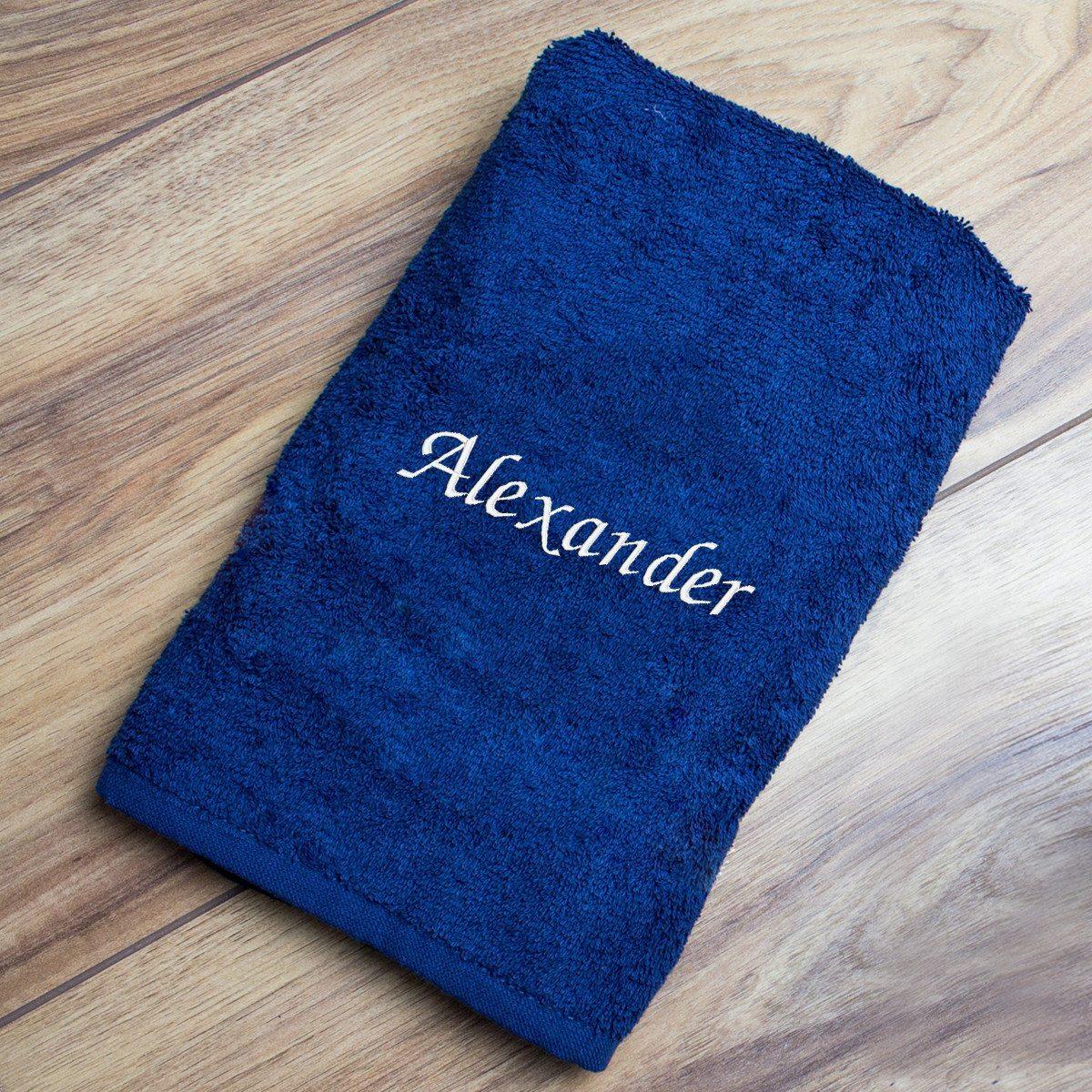 Handtuch besticken