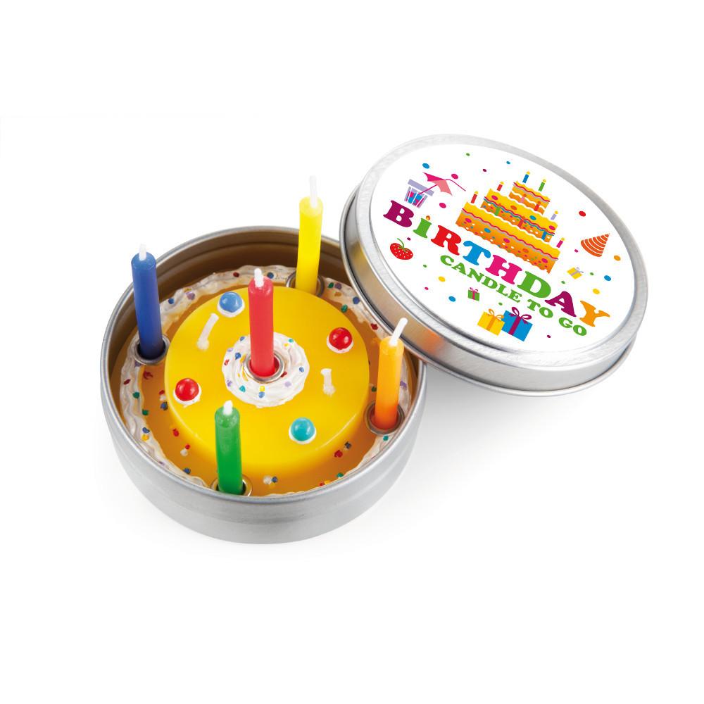 Happy Birthday-Kerze to go