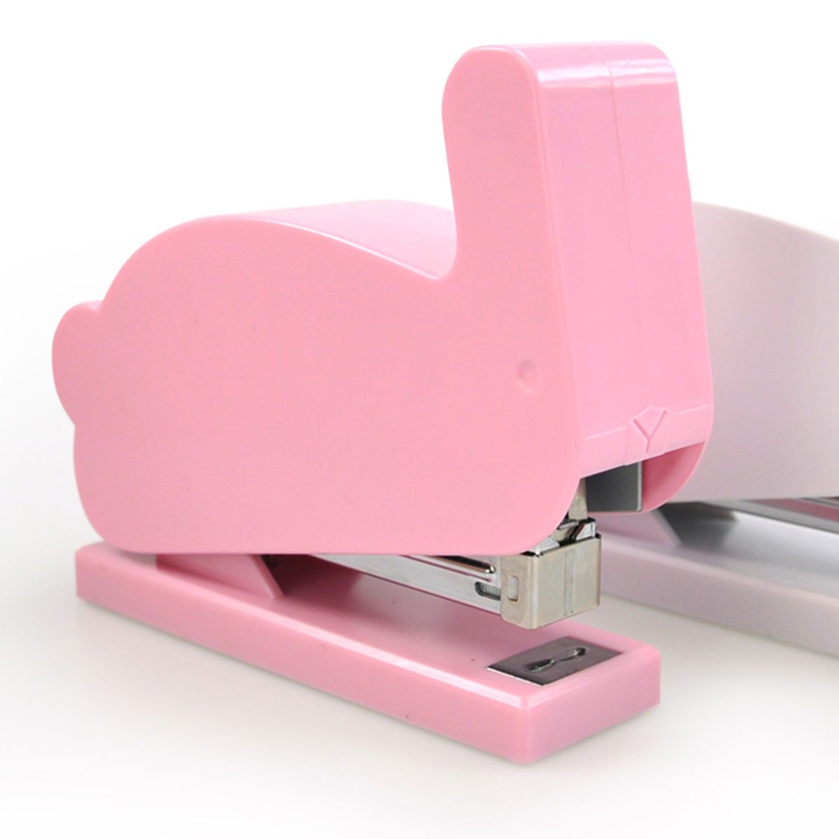 """Grapadora de diseño """"Conejito rosa"""""""