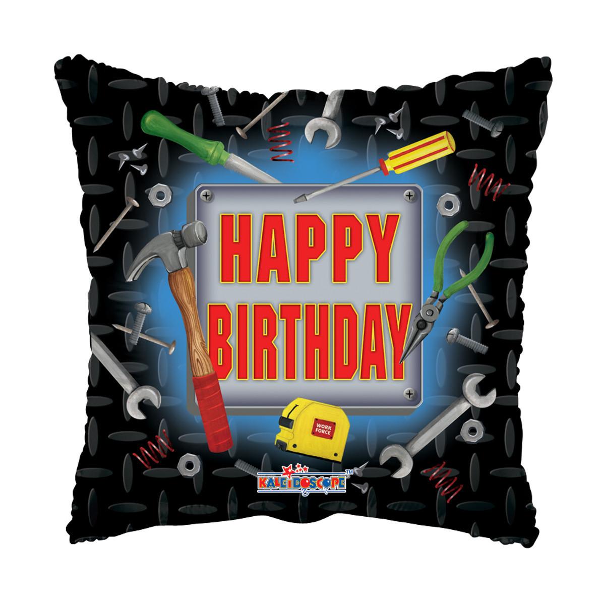 "Globo de helio ""Happy Birthday"" (Herramienta)"