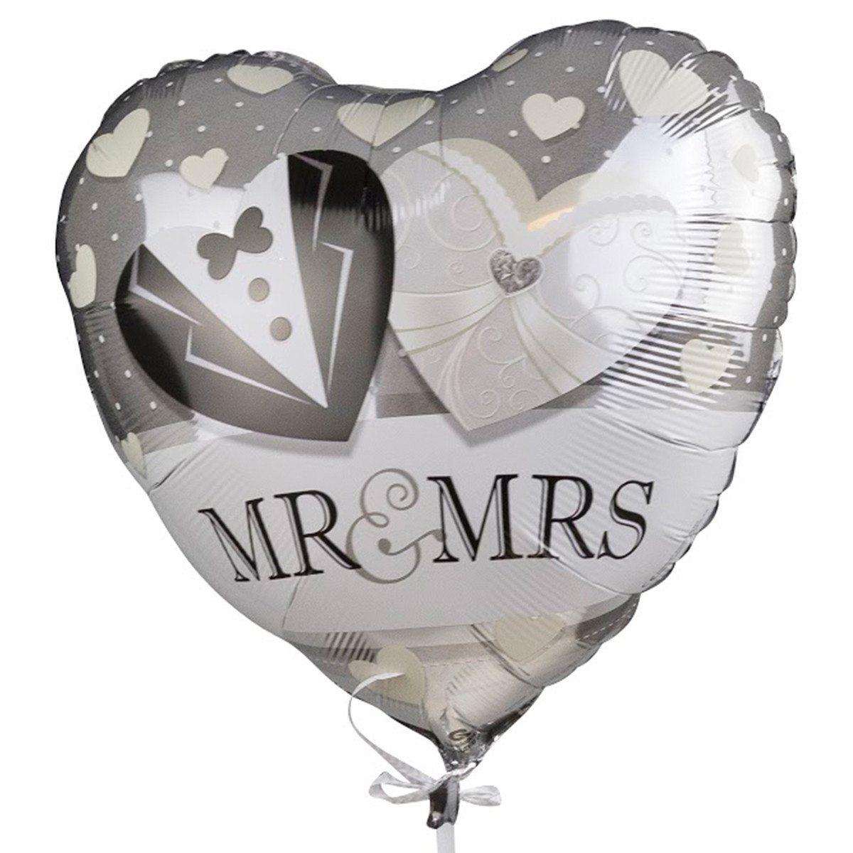 """Helium-Luftballon """"Mr. & Mrs."""""""