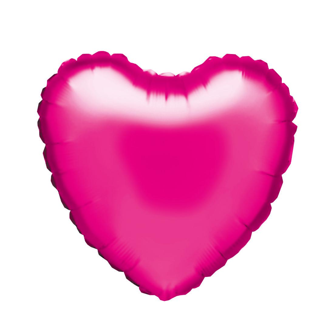 """HERZ PINK 46 CM / HEART PINK 18"""""""