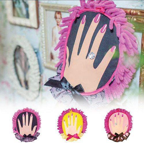 Hübscher Mikrofaser-Handschuh