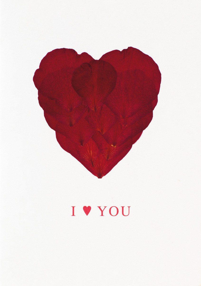 I Love you - Tarjeta de regalo original para regalo