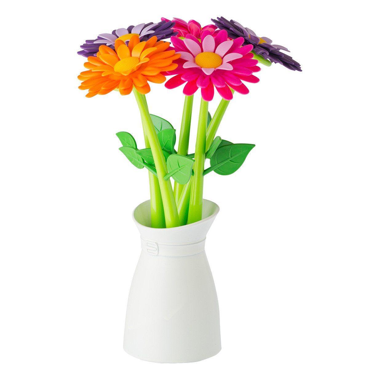 Boligrafos flores