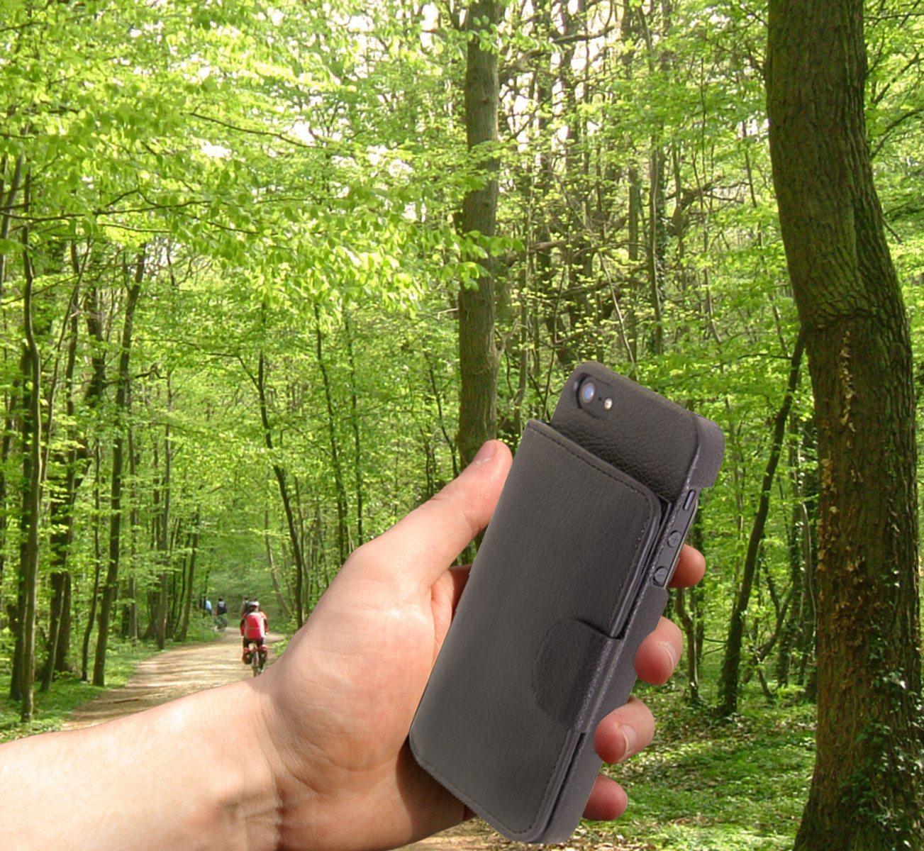 iWallet - Funda cartera para iPhone 5 súper práctica