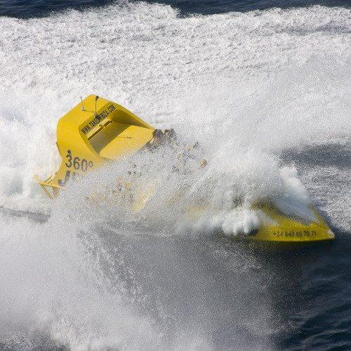 Jet Boat con Puesta de Sol - Ibiza