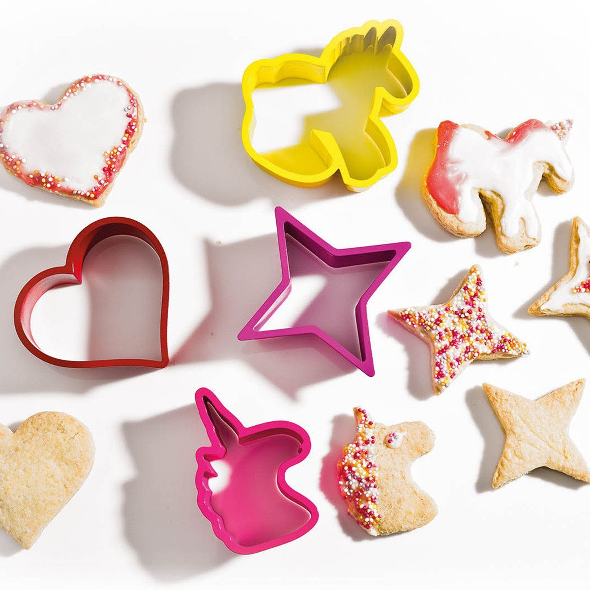 Formas para galletas - unicornio
