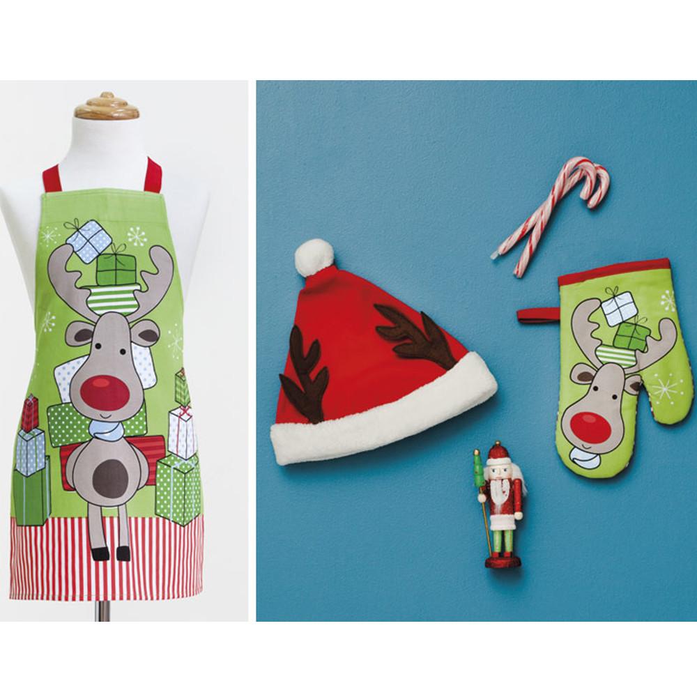Set de cocina para niños – diseñado con motivos navideños