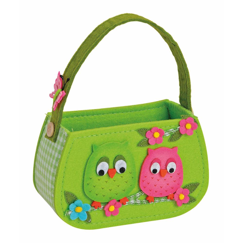 "Kindertasche ""Filzeulen"""