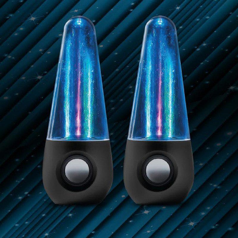 Altavoces LED de agua – Efecto visual para tu mejor música
