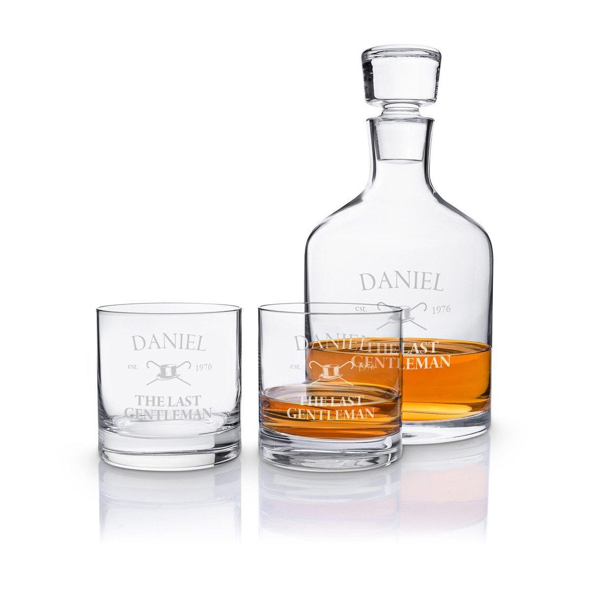 Leonardo: Luxuriöses Whisky-Set mit Gravur
