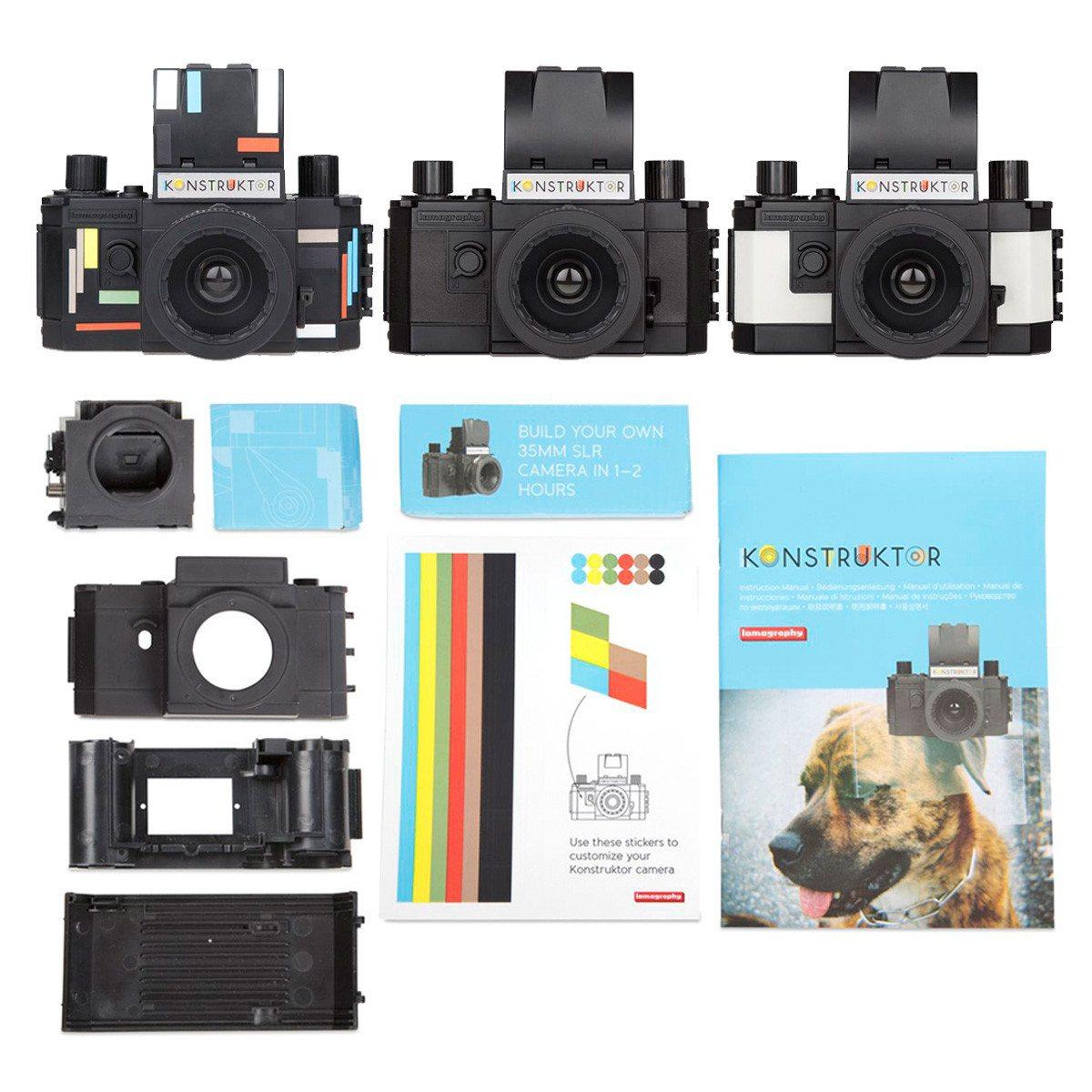 Cámara Lomo Konstruktor - Construye tu propia cámara reflex