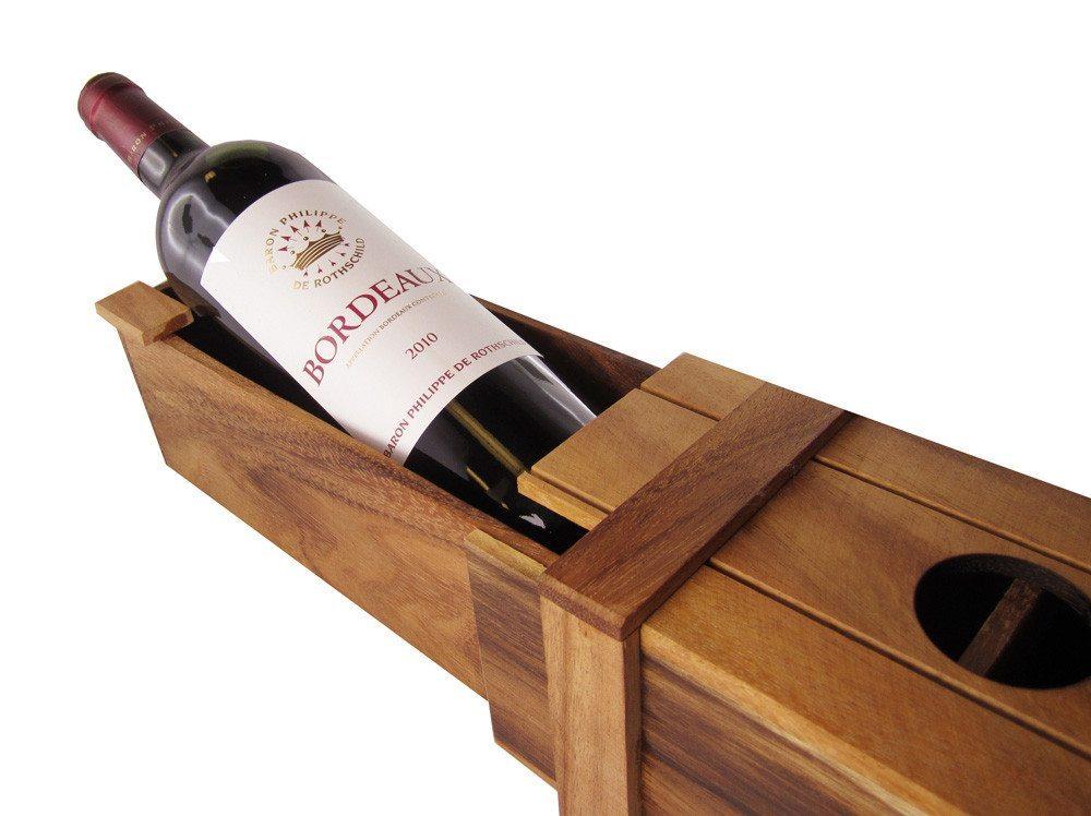 Magische Weingeschenkbox - Offen